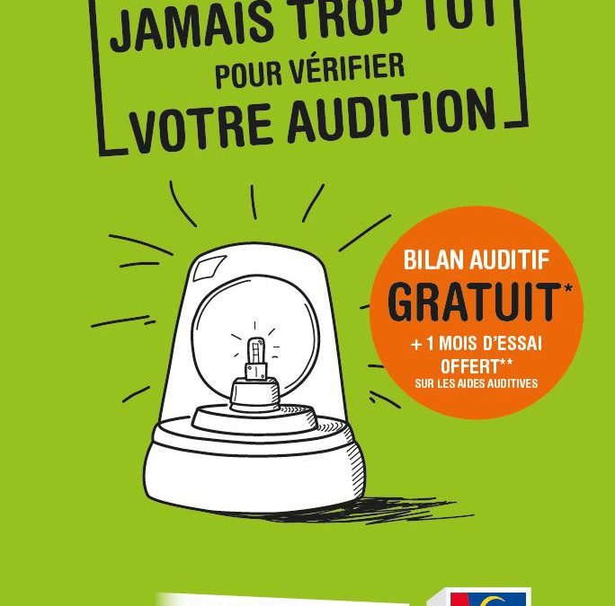 8 Mars 2018 : Journée nationale de l'audition