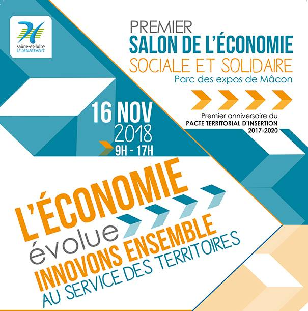 16 novembre : Participation au 1er salon de l'ESS à Mâcon