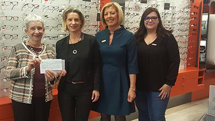 Les Opticiens Mutualistes soutiennent Toujours Femme