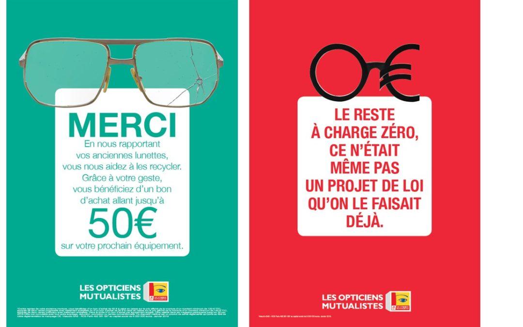 Rapportez vos anciennes lunettes et bénéficiez d'un bon d'achat